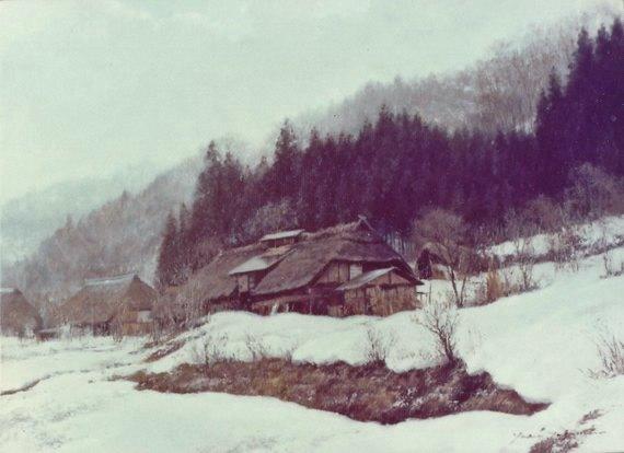 山麓の冬(青木沢)