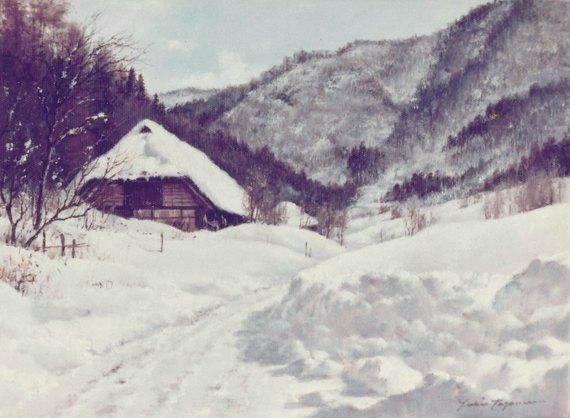 雪晴れ(明川)