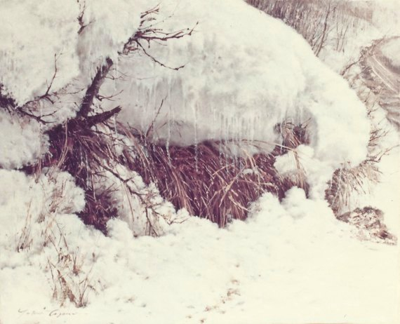 路傍(雪解けの頃)