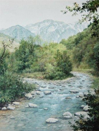 初夏の谷川岳