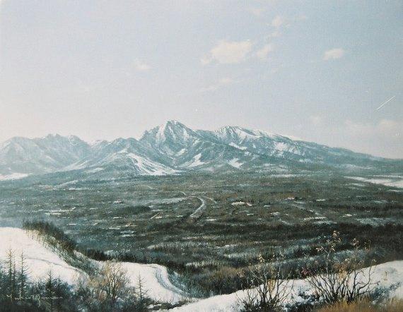 冬晴れ(八ヶ岳)