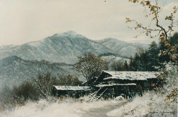 川上郷冬日(千曲川源流)