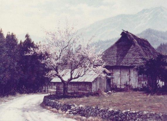 秩父路の春(白久)
