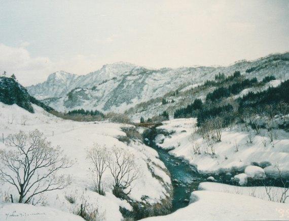 赤い橋(小国町)