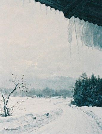 雪間(信濃大町)