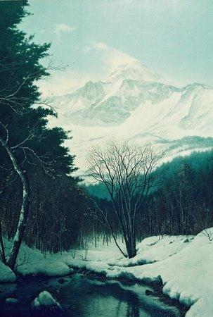 冬晴れ(裏磐梯高原)